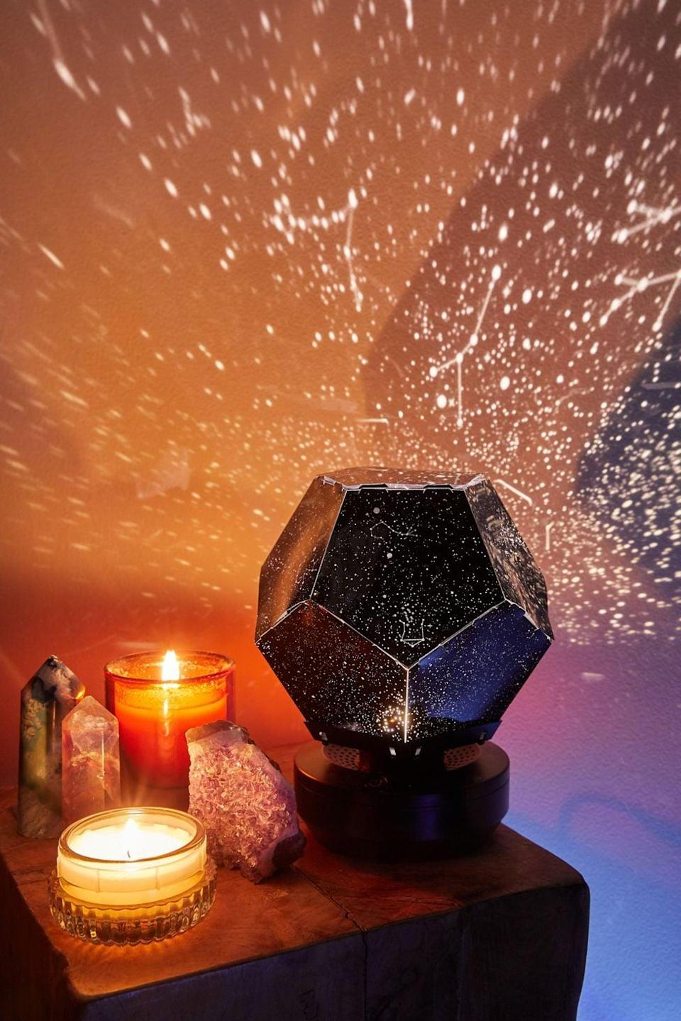 <p>Get this <span>Brilliant Ideas UO Exclusive Galaxy Star Projector</span> ($40) for the person who loves space. It makes for a seriously cool nightlight and dorm decor.</p>