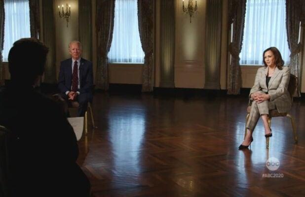 Joe Biden and Kamala Harris' First Joint Interview Is Sunday's Most-Watched Show