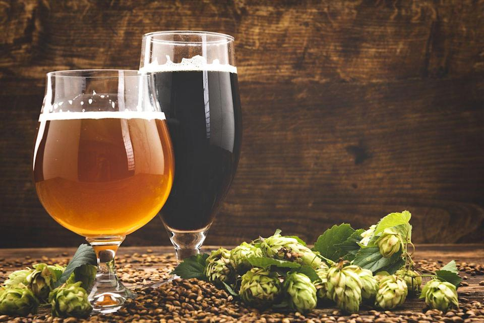 """<p>What makes a Halloween beer tasting different from a regular beer tasting? Drinking in costume! (You could also specifically sample pumpkin beers.)</p><p><a class=""""link rapid-noclick-resp"""" href=""""https://www.amazon.com/LEGACY-Picnic-Four-Glass-Flight-Tasting/dp/B01DXLUBFQ/?tag=syn-yahoo-20&ascsubtag=%5Bartid%7C10072.g.28787574%5Bsrc%7Cyahoo-us"""" rel=""""nofollow noopener"""" target=""""_blank"""" data-ylk=""""slk:SHOP TASTING SETS"""">SHOP TASTING SETS</a></p>"""
