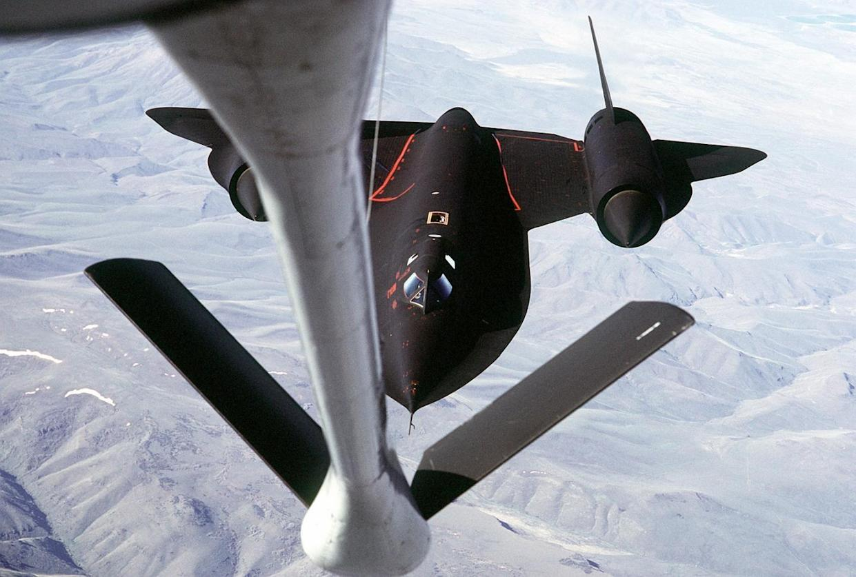 Amazing Video Demonstrates the Power of the SR-71