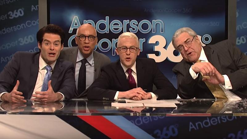 John Goodman, Bill Hader and Fred Armisen Take on the Trump White House in Star-Studded 'SNL' Cold Open