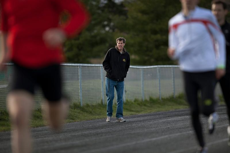 Our running program was overseen by Dave Scott-Thomas, who allegedly groomed one of his runners for a sexual relationship. (Photo: Moe Doiron/The Globe and Mail via CP)