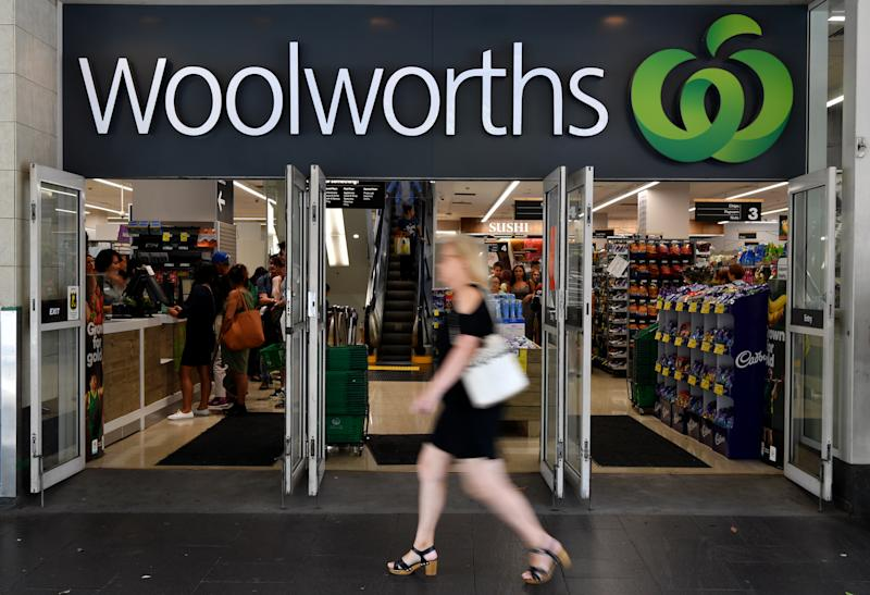 Picture of a Woolworths store, customers have been reporting an email scam through the supermarkets social media page.