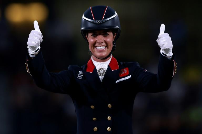 Charlotte Dujardin is Britain's most-decorated female Olympian