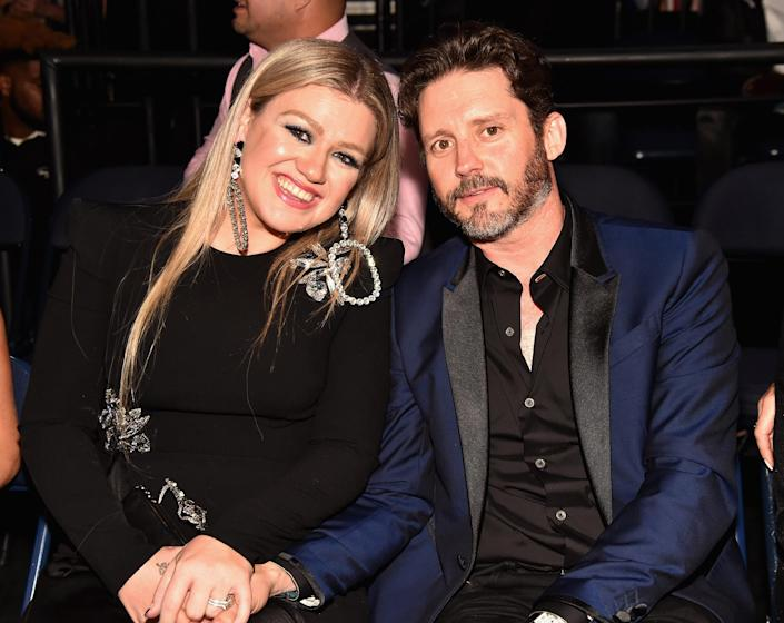Kelly Clarkson opening up about the stars she and her husband find most relatable (FilmMagic)