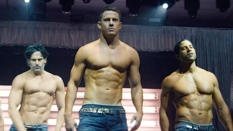 Channing Tatum in 2015's 'Magic Mike XXL'. (Credit: Warner Bros)