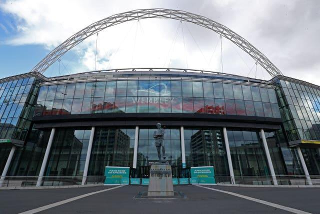 Wembley will host the semi-finals and final of Euro 2020