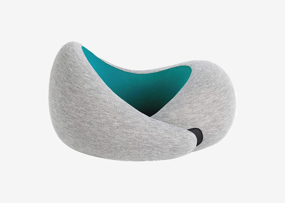 """<p>If you're not the only driver in the car, you'll be happy to have a <a href=""""https://www.cntraveler.com/gallery/best-neck-pillow?mbid=synd_yahoo_rss"""" rel=""""nofollow noopener"""" target=""""_blank"""" data-ylk=""""slk:neck pillow"""" class=""""link rapid-noclick-resp"""">neck pillow</a> while napping during your off shifts. OstrichPillow makes all kinds of interesting contraptions to help you get some sleep wherever you are, but we like the memory foam, velcro-close OstrichPillow Go best for car rides.</p> <p><strong>Buy now:</strong> <a href=""""https://amzn.to/3fH9onF"""" rel=""""nofollow noopener"""" target=""""_blank"""" data-ylk=""""slk:$60, amazon.com"""" class=""""link rapid-noclick-resp"""">$60, amazon.com</a></p>"""