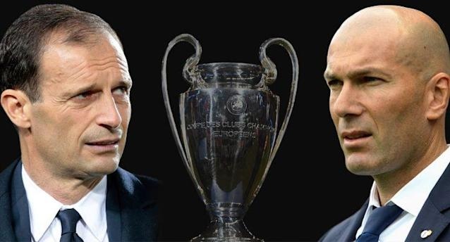 It's Max Allegri's Juve vs. Zinedine Zidane's Real in Cardiff. (Getty Images)