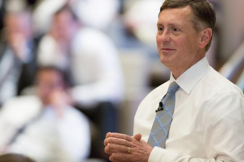 Clarida, managing director at asset manager PIMCO, appears in this handout photo