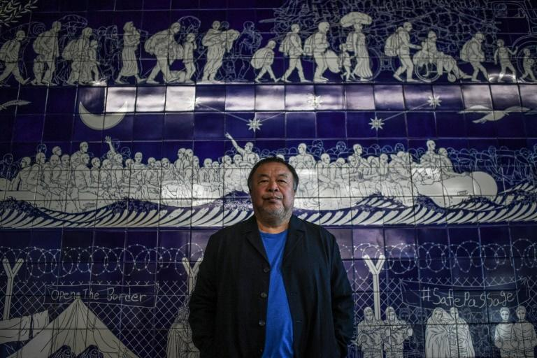 'I feel comfortable in Portugal. It's not easy to describe', Weiwei says