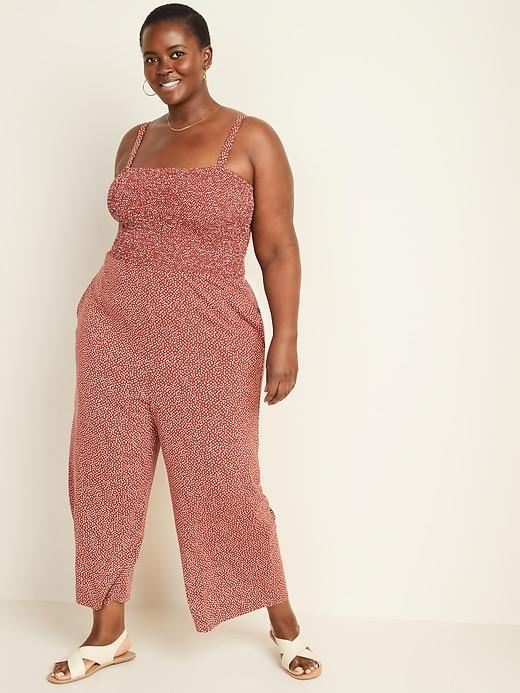 Old Navy Smocked-Bodice Jersey Cami Jumpsuit