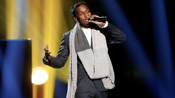 PHOTO: A$AP Rocky performs during the 42nd American Music Awards in Los Angeles, Nov. 23, 2014. (Mario Anzuoni/Reuters, FILE)