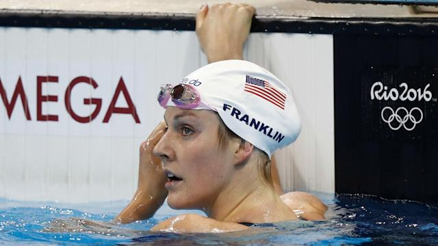 The USA Swimming standout underwent separate surgeries earlier this year to remove built up bursal and scar tissue in her shoulders.