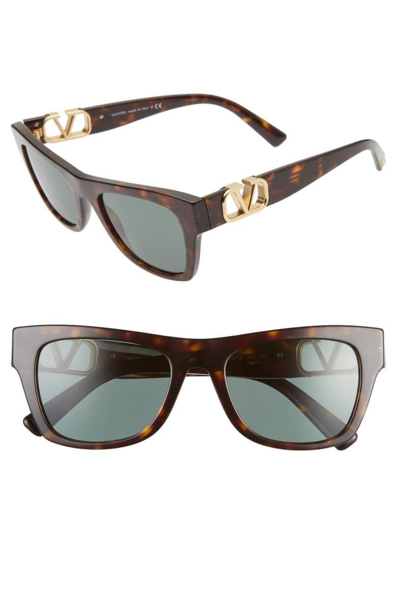 <p><span>Valentino 52mm Polarized Sunglasses</span> ($272, originally $389)</p>