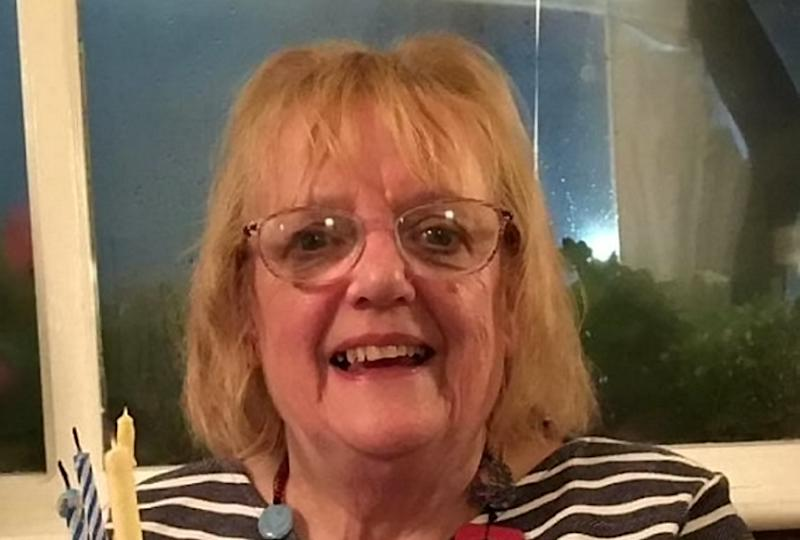 Barbara Barnes, 74, had the wrong implant fitted in October 2018, and the NHS Trust which oversees the hospital has since admitted its failure to insert the correct sided implant. (SWNS)