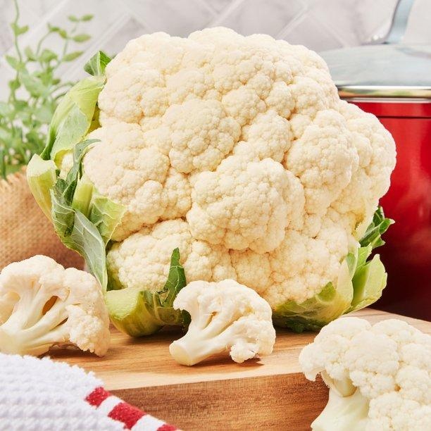 Cut up cauliflower into tiny pieces and watch it disappear into foods. (Photo courtesy of Walmart)