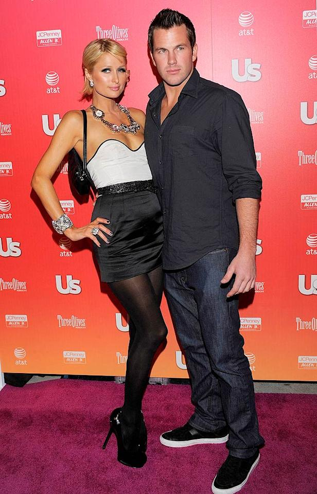 """Paris Hilton and her main squeeze, Doug Reinhardt, were also in attendance at the bash held at My House. Do you think Doug enjoys being in the spotlight as much as the hotel heiress does? Todd Williamson/<a href=""""http://www.wireimage.com"""" target=""""new"""">WireImage.com</a> - April 22, 2009"""