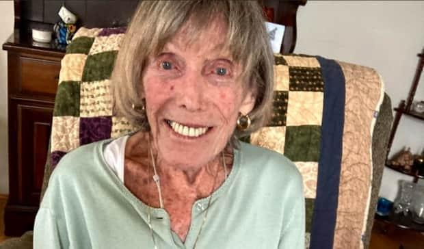 Victoria Burda, a 95-year-old North York resident with a chronic lung disease, is finally slated to get her first vaccine dose on Friday. But her daughter says the process has been rife with complications — all because her mother lives in her own home instead of in a long-term care facility. (Supplied by Cherise Burda - image credit)