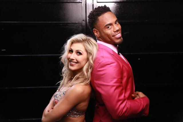 Emma Slater and Rashad Jennings