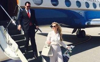She was criticised for flaunting her wealth on a government-funded trip - Louise Linton/Instagram