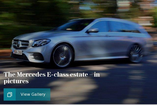 Mercedes E-class estate in pictures