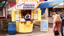 <p>Although George Michael and Maeby Bluth may not have been happy about working at their family's frozen banana stand, it remained a historic fixture on Balboa Island, as well as in the series <em>Arrested Development</em>. And don't forget: There's always money in the banana stand.</p>