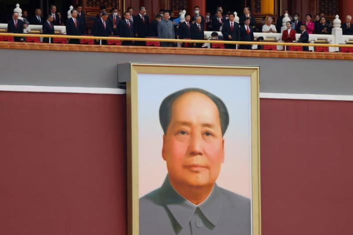 FILE PHOTO: The 100th founding anniversary of the Communist Party of China in Beijing