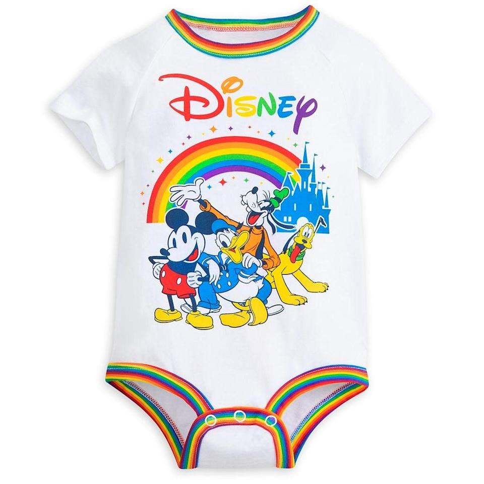 <p>Take a trip with your baby to the parks with this <span>Mickey Mouse and Friends Bodysuit For Baby</span> ($15).</p>