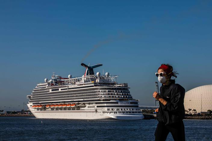 """At Carnival Cruise Line, the buffet remains a question mark. """"At this point, we haven't made a determination yet,"""" spokesman Roger Frizzell said."""