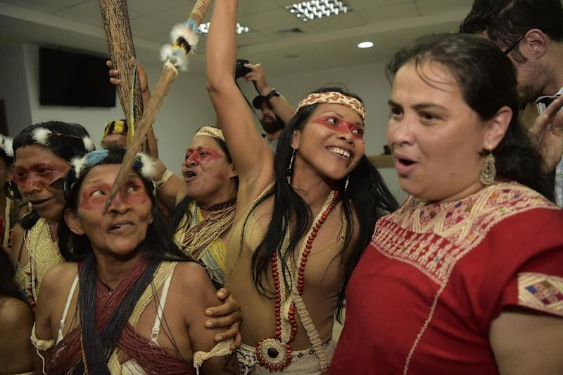 After two weeks of deliberations, a criminal court in Puyo, Ecuador, accepted a Waorani tribe bid for court protection in Pastaza province to stop an oil bidding process