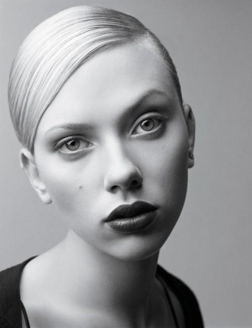 Scarlett Johansson, born November 22nd, photographed by Craig McDean for W Magazine, August 2004.
