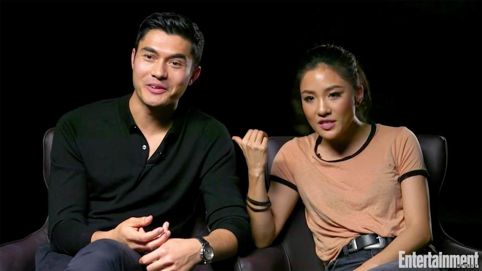 """Constance Wu and Henry Golding are starring in """"Crazy Rich Asians"""". (Photo: Entertainment Weekly)"""