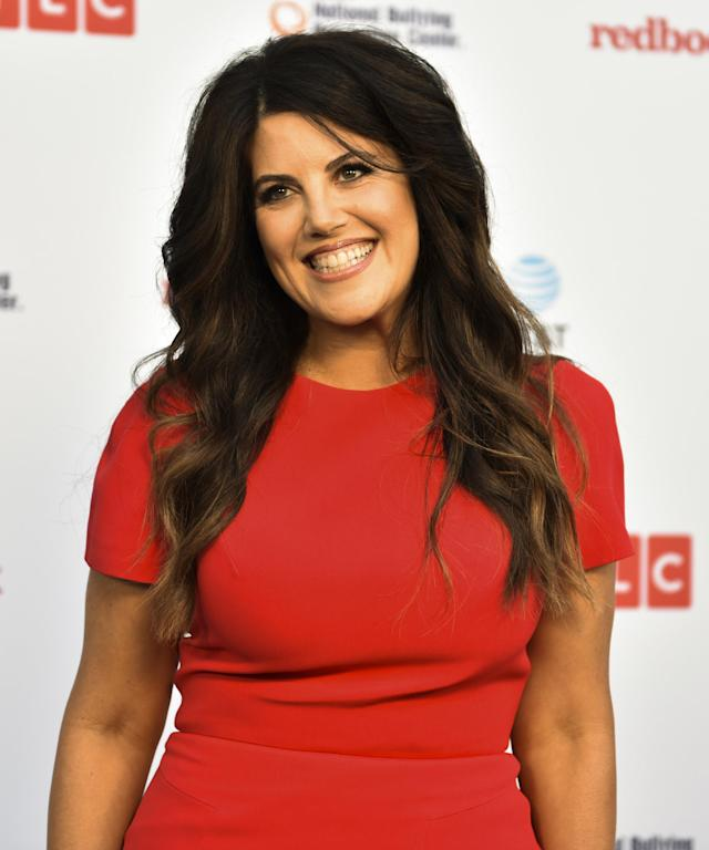 Monica Lewinsky is apologizing for spreading a viral story about two strangers who flirted on a plane. (Photo: Getty Images)