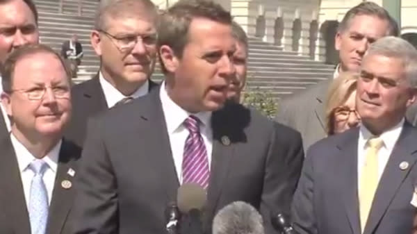 GOP Rep. Mark Walker Calls Female Colleagues 'Eye Candy' At Press Event