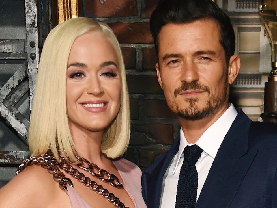 Katy Perry and Orlando Bloom got engaged in 2019.