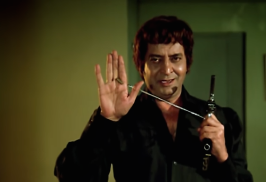 The veteran actor played an acrobat in this action thriller.