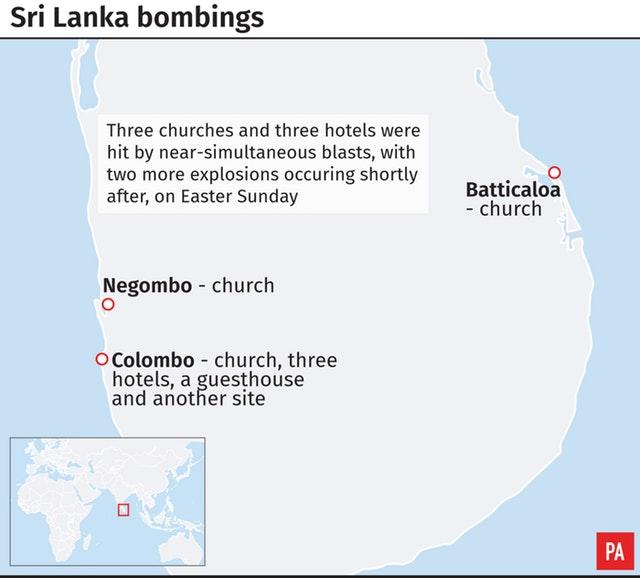 Sri Lanka bombings
