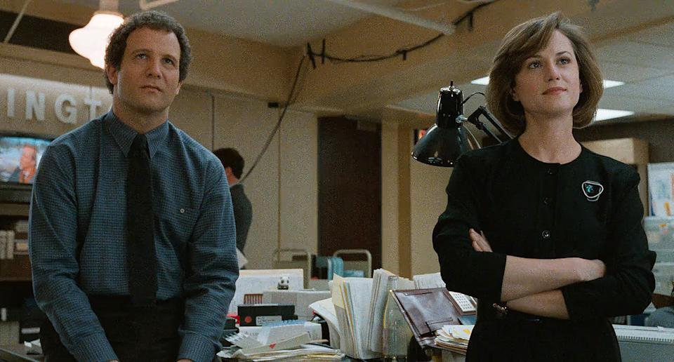 'Broadcast News'. (Credit: 20th Century Studios)