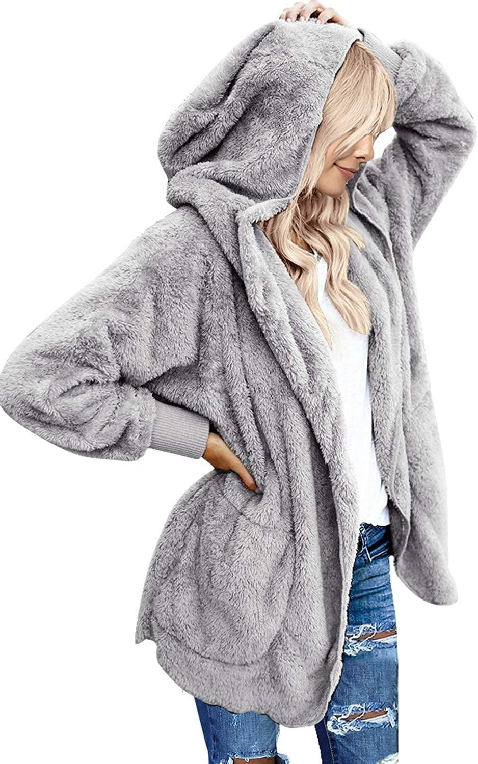 <p>You'll never want to take off this cozy <span>LookbookStore Oversized Cardigan Coat</span> ($37).</p>