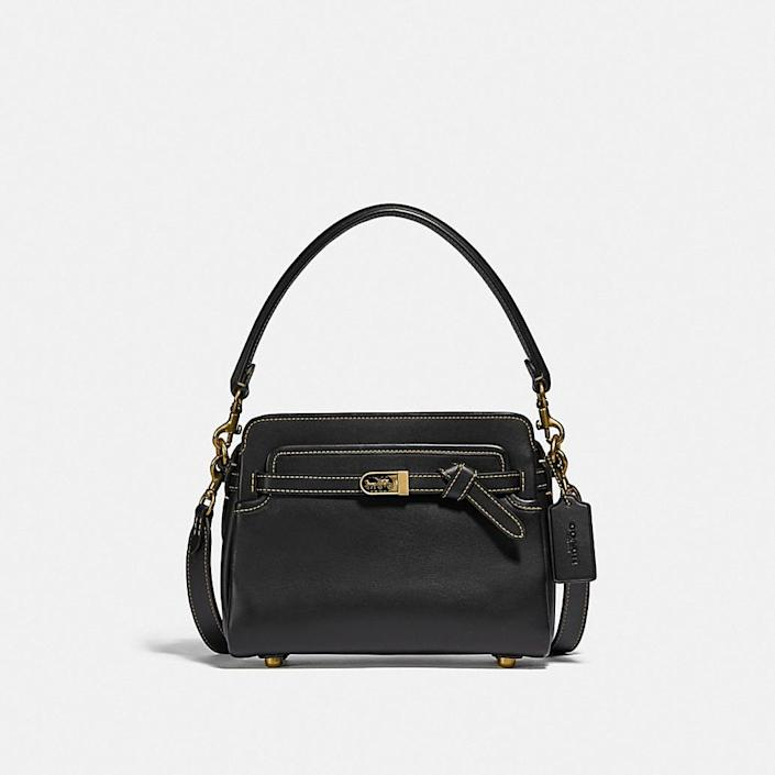 <p>This <span>Coach Tate Carryall</span> ($495) is the perfect bag that you can dress both up or down.</p>