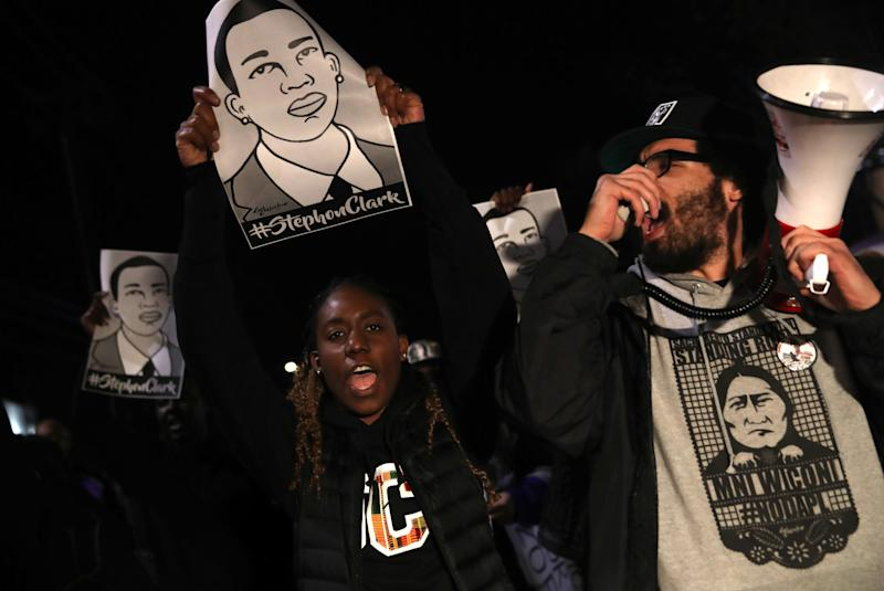 The police killing of Stephon Clark in March 2018 sparked protests in Sacramento, California, and elsewhere as activists demanded a higher level of accountability from law enforcement officers.
