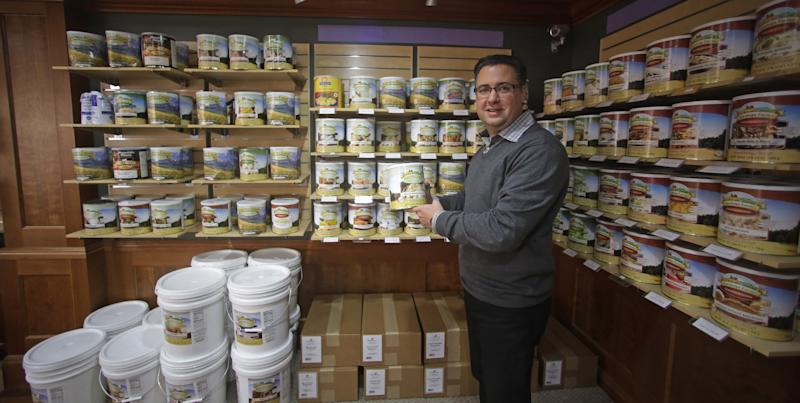 Mormon-centric Utah epicenter for food storage