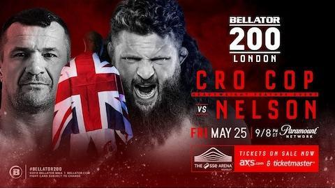 "Heavyweight Mirko Cro Cop has been forced to withdraw from the headline event against Roy Nelson through ""an undisclosed injury"" at Bellator 200 at Wembley Arena on Friday night. It was to be the Croatian's debut with the fight league. The Croatian fight sports legend is understood to have suffered a leg injury and a replacement to face Nelson, the American heavyweight, is currently being sought by the fight league for the blockbuster card which includes the middleweight title fight featuring champion Michael Carvalho against Gegard Mousasi. #Bellator200 in LONDON is almost here! Tickets -> https://t.co/6hf5r0N8JKpic.twitter.com/oHULKXAw9c— Bellator MMA (@BellatorMMA) May 20, 2018 Cro Cop, who has previously fought twice in the UK in a long and decorated career, was the 2006 Pride Open-Weight Grand Prix Champion, the 2012 K-1 World Grand Prix Champion and the 2016 Rizin Openweight Grand Prix Champion. Cro Cop is renowned for his dangerous knockout left head-kick, once famously described as ""right leg, hospital; left leg, cemetery."" Cro Cop, short for ""Croatian Cop"", comes from his membership in the Lučko Anti-Terrorist Unit, Croatia's elite Police Special Forces tactical unit, with the fighter also having served as a politician in his homeland. Ryan Grab, Senior Director of Communications & Athlete Strategy at Bellator MMA, confirmed the news to Telegraph Sport on Monday: ""Mirko Cro Cop has suffered an undisclosed injury and has been forced off the card, and we are looking at replacements, though for the time being Carvalho-Mousasi has been moved to the main event and British standout Michael 'Venom' Page against American David Rickels has been elevated up to the co-main event fight."" A saving grace for the card is that it is replete with major fights, including British light-heavyweight Linton Vassell facing former light heavyweight champion Phil Davis, the winner of which should be in line for a title challenge against champion Ryan Bader, while broad interest will centre on reality tv star Aaron Chalmers, making his debut on Bellator in his fourth MMA fight, against fellow British fighter Ash Griffiths, in his fourth professional contest. The event is to be shown live on SpikeUK from 9pm on Friday night."