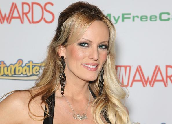 Porn star Stormy Daniels describes affair with President Donald Trump