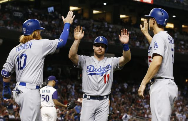 Instead of wondering how the Dodgers are going to blow it, let's appreciate how they got here. (AP Photo/Ross D. Franklin)