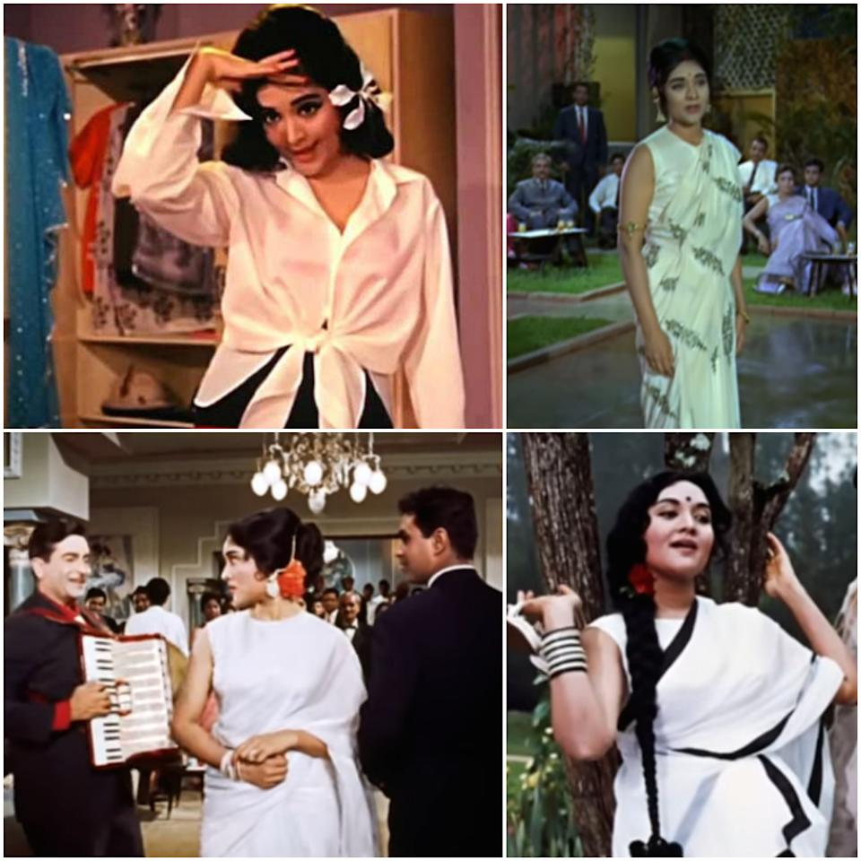 Athaiya was tasked with creating Vyjayanthimala's look in the film.