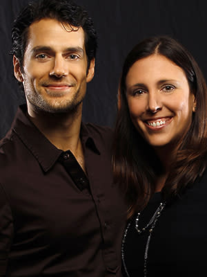 Giana Mucci and Henry Cavill