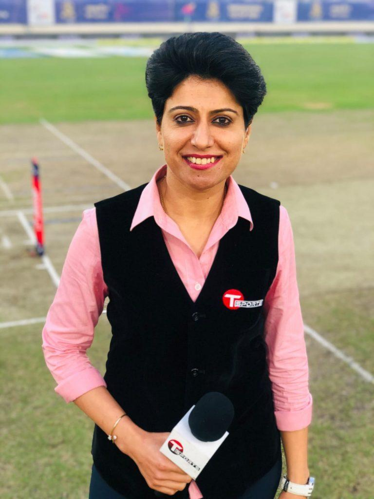 Both playing and broadcasting are challenging- Anjum Chopra