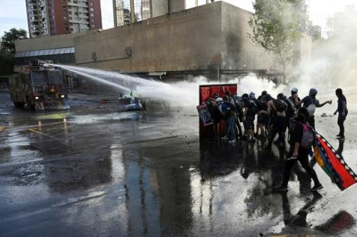 Demonstrations have become an almost daily occurrence in the capital Santiago